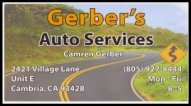 Gerber's Auto Services