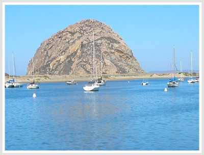 Morro Bay, CA The Rock