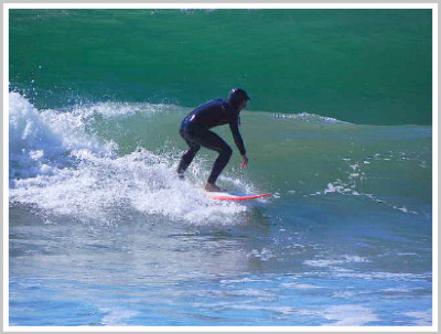 central coast surfer