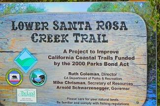 santa rosa creek trail