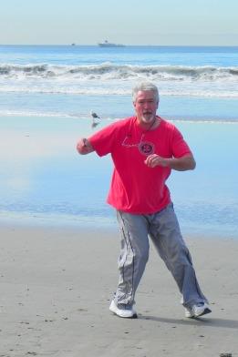 beach exercise