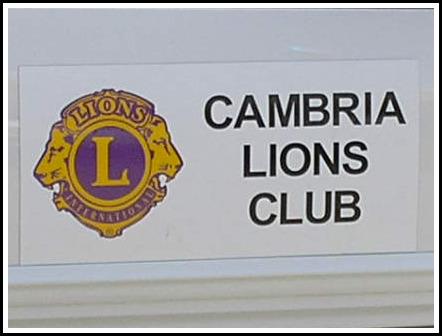Cambria Lions Club