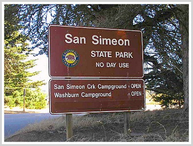 San Simeon State Park