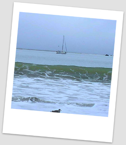 San Simeon boat