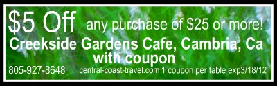 creekside gardens cafe