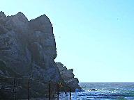 edge of rock