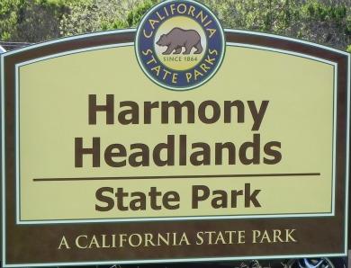 Harmony Headlands state park