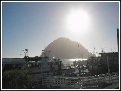 Morro Rock boats