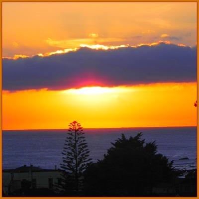 sunset central coast