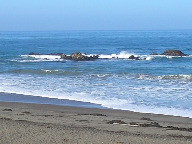 Moonstone Beach Rocks