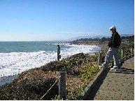 Moonstone Beach, Cambria, CA