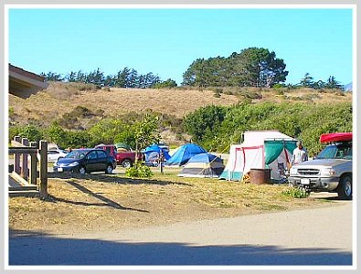 camping central coast