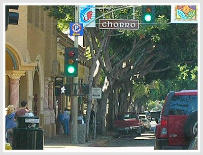 down town SLO