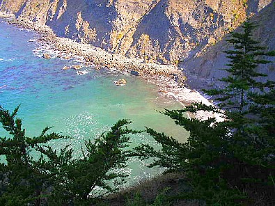 hiking ragged point